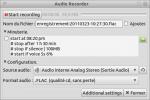 Audio Recorder, le petit logiciel qui recorde …